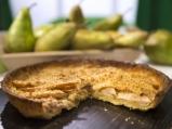 Тарт с круши и бадеми