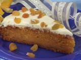 Кейк от моркови с ябълки и глазура