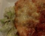 Пиле пармиджано с доматен сос на фурна 3