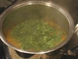 Спаначена супа 3