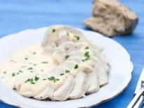 Печени пилешки гърди с майонеза