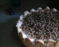 Торта с домашни блатове, млечно-яйчен...