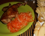 Апетитен печен заек  4