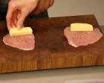 Рулца от свинско с кашкавал 4