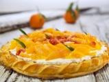 Тарт с маскарпоне и портокали
