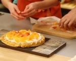Тарт с маскарпоне и портокали 9