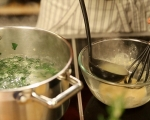Супа от макарони и спанак 5