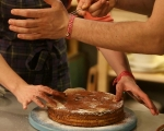 Картофена торта с крем от кафе 11