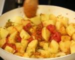 Къри с картофи и спанак 3
