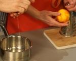 Портокалов крем с бял шоколад