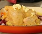 Пълнено пиле със сирена и спанак 7