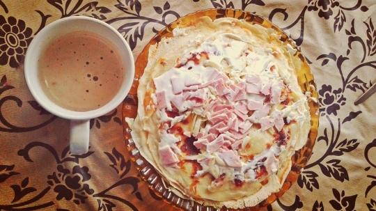 """Палачинков тарт """"Неделя сутрин"""""""