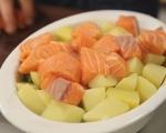 Сьомга с броколи и картофи на фурна 3