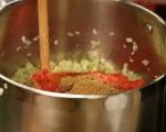 Индийска супа от леща 3