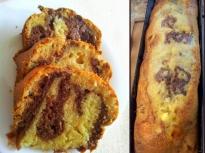 Кекс с бисквити и конфитюр