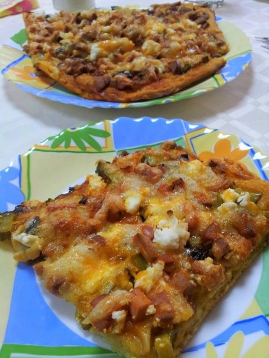 Бъркана пица