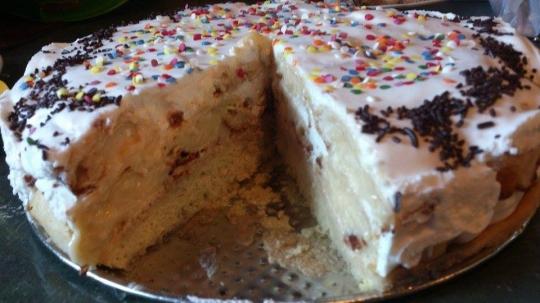 """Еклерова торта """"Мечта"""""""