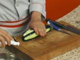 Пенне ригате с печени зеленчуци