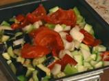 Пенне ригате с печени зеленчуци 3