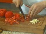 Пенне ригате с печени зеленчуци 4