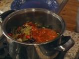 Пенне ригате с печени зеленчуци 7