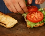 Сандвич със свинско и лют сос 5