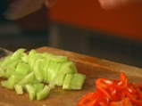 Зеленчукова салата със спагети 3