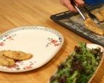 Хрупкаво пилешко с провансалски аромати 7