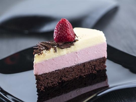 Трицветна торта