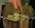 Супа с пълнени тиквички 8