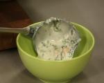 Студена супа с кисело мляко, спанак и нахут 6
