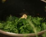 Печени яйца с гъби и спанак 5