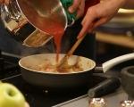 Пълнени тиквички с пилешко и моцарела 9