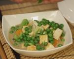 Зеленчукова супа с тофу 7