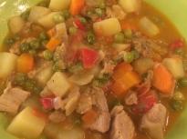 Яхния от свинско със зеленчуци