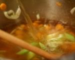 Супа топчета със спанак 2