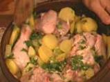 Пиле с чесън и лимон 3