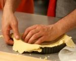 Тарт с кайсии и мак 4