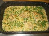 Пиле с кускус по тракийски