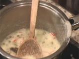 Гювече с броколи и рулца от раци 2