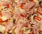 Пица с тесто от извара 11