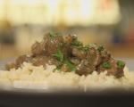 Ориз с гъби и дроб 11