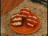 Салата от домати с рулца от раци 5