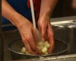 Сьомгова пъстърва със зеленчуци 8