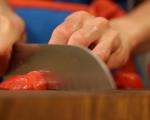 Сьомгова пъстърва със зеленчуци 14