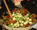 Сьомгова пъстърва със зеленчуци 19