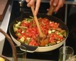 Сьомгова пъстърва със зеленчуци 20