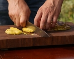 Свински пържоли с ананас 5