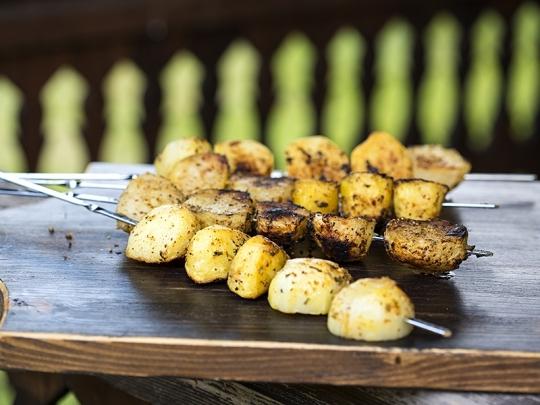 Картофи на шиш