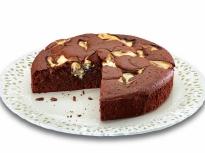Мраморен шоколадов фъч кейк